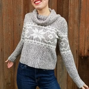 Forever 21 | Fair Isle cowl neck sweater